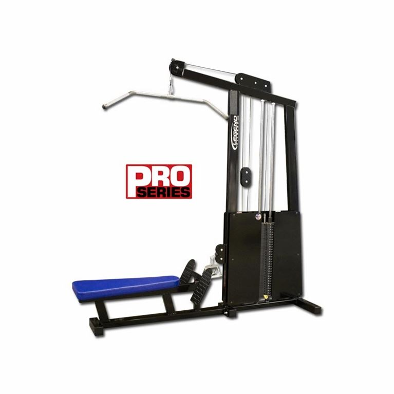 pro series lat-low row combo