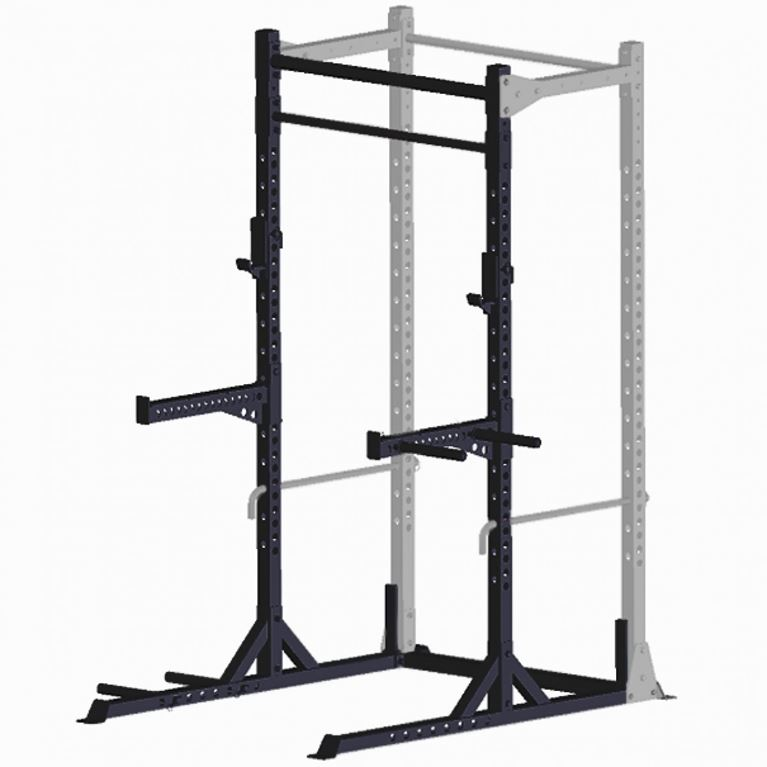 guillotine half-rack conversion kit