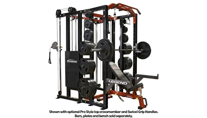 functional trainer fusion half cage