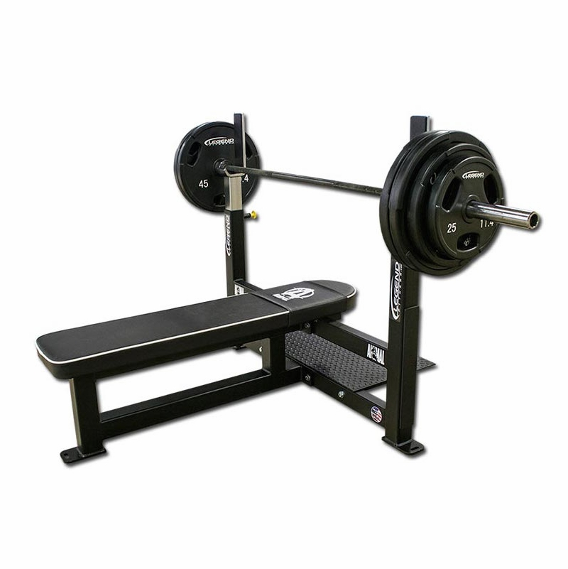Free Weights Bench: Competition Flat Bench Press